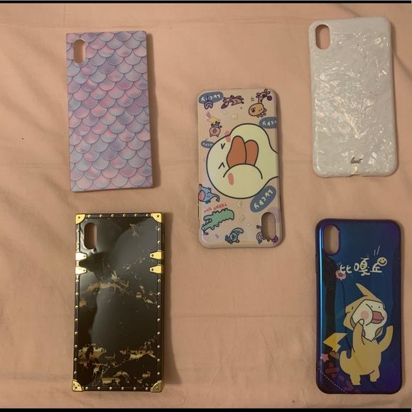 Accessories - iPhone covers Xs  Max. ( Bundle)